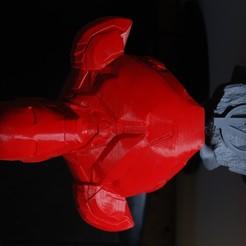 DSC_0169.JPG Download STL file Iron Man Bust - Mark 85  • 3D printing design, JBertotto