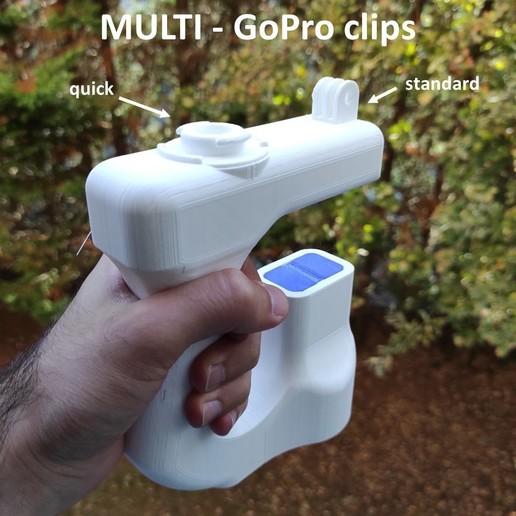 Diapositive6.JPG Descargar archivo STL Mango ergonómico multi-herramienta GoPro Action Cam • Plan de la impresora 3D, McGyver_Ch218