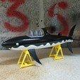 Download 3D printing designs Tintin shark submarine, mouset74