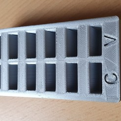 20200509_102541.jpg Download free STL file XK K110 battery holder • 3D printer model, fabriceregnier88