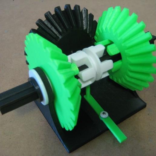 IMG_1206.JPG Télécharger fichier STL gratuit Transmission à engrenages coniques • Modèle à imprimer en 3D, matthewdwulff
