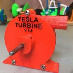 IMG_0877[1.JPG Download free STL file Tesla Turbine • 3D printer design, matthewdwulff