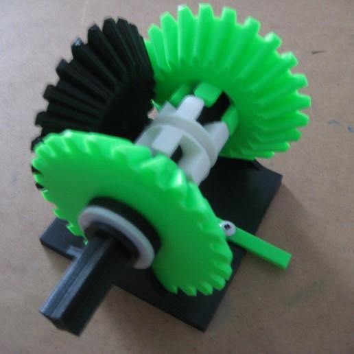 IMG_1249.JPG Télécharger fichier STL gratuit Transmission à engrenages coniques • Modèle à imprimer en 3D, matthewdwulff