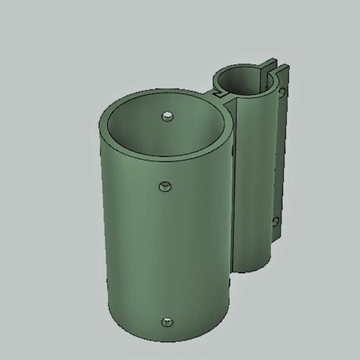 Download free 3D printing models Lasser mount for pellet gun, matthewdwulff