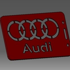 Descargar archivos 3D Audi-2D- tarjeta de identificación o tarjeta de crédito, cristianalin007