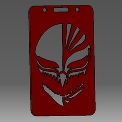 Download 3D printer designs Mask-2D badge ID or credit card holder, cristianalin007