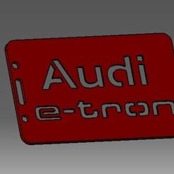 Descargar archivos 3D Audi-e tron-2D identificación de la tarjeta de crédito o titular de la tarjeta de crédito, cristianalin007