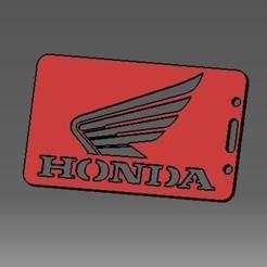 Descargar archivos 3D Tarjeta de identificación Honda-2D o titular de una tarjeta de crédito, cristianalin007