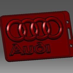 Descargar modelo 3D Identificación de tarjeta de identificación Audi-3D o titular de tarjeta de crédito, cristianalin007