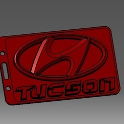 Descargar modelos 3D para imprimir Tarjeta de identificación Hyundai-3D o titular de una tarjeta de crédito, cristianalin007