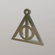 Download free STL file Deathly Hallows • 3D printing object, Angel3D