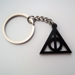 Download free 3D printer designs Deathly Hallows, Angel3D