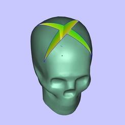Descargar modelos 3D gratis Cráneo de Lisa XBOX, shuranikishin