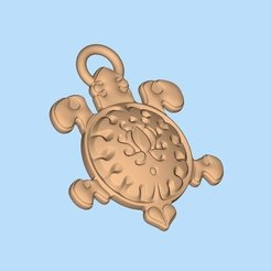 Download free STL file turtle • 3D printing template, shuranikishin