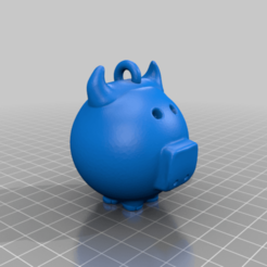 c2-1.png Download free STL file New year symbol 2 • Object to 3D print, shuranikishin