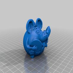 PilotR.png Download free STL file Mouse pilot and technician • 3D printing model, shuranikishin