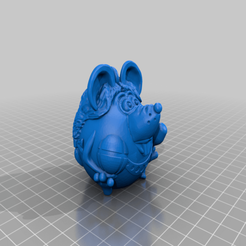 gimnastka.png Download free STL file Mouse gymnast • Model to 3D print, shuranikishin