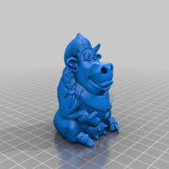 v9sneg.png Download free STL file Snow Maiden is a cow 2021. • 3D printing model, shuranikishin