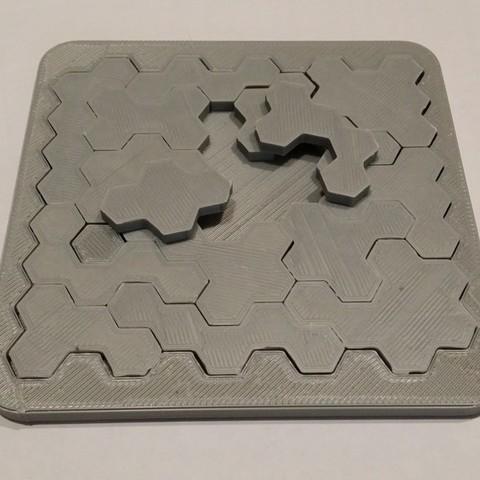 Télécharger fichier 3D gratuit Puzzle, shuranikishin