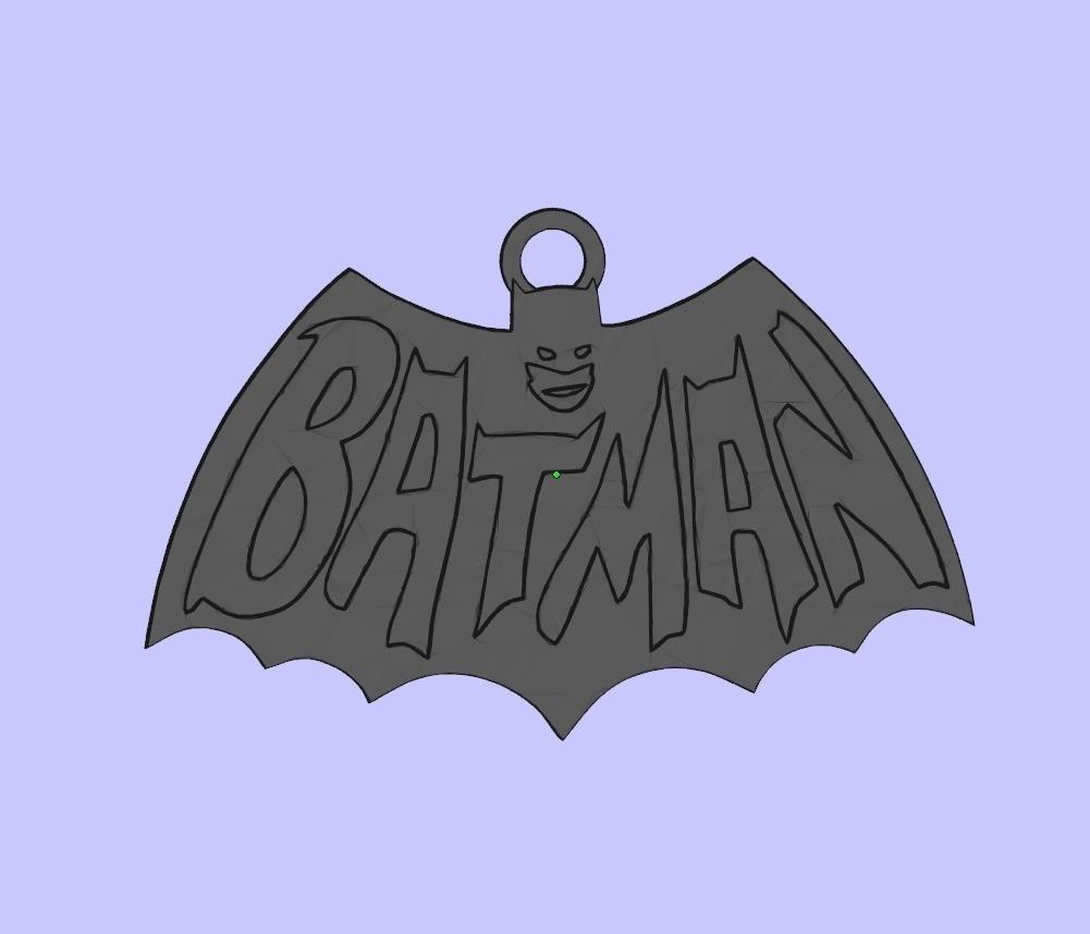 3647d11020527e5bfda9568a21b2c7f9_display_large.jpg Télécharger fichier STL gratuit Porte-clés Batman • Plan pour impression 3D, shuranikishin
