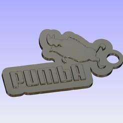 Imprimir en 3D gratis Llavero PUMbA, shuranikishin