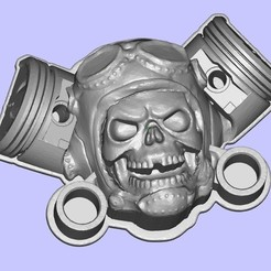Free 3D printer model MotoSkull, shuranikishin