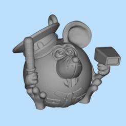 2019-12-06_12-59-50.png Download free STL file Mouse traffic cop • 3D printing model, shuranikishin