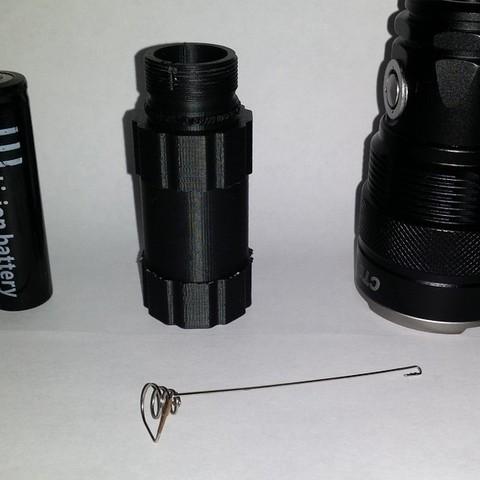 Télécharger fichier 3D gratuit Корпус для для фонарика фонарика, shuranikishin