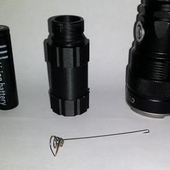Download free 3D printer model Корпус для фонарика, shuranikishin