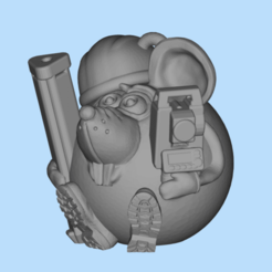 Download free 3D printing models Mouse surveyor, shuranikishin