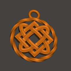 Impresiones 3D gratis relicario celta, shuranikishin