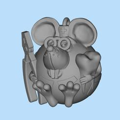 2019-12-06_16-21-29.jpg Download free STL file mouse dentist • 3D printable design, shuranikishin
