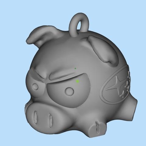 630a50a7446dc179f76597942a1c5541_display_large.jpg Télécharger fichier STL gratuit Porc Subaru 2019 • Modèle imprimable en 3D, shuranikishin