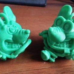 Download free 3D printing templates mouse moto, shuranikishin