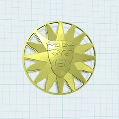Download free 3D printer templates medal, shuranikishin