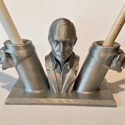 Descargar STL gratis Portabolígrafos Putin, shuranikishin