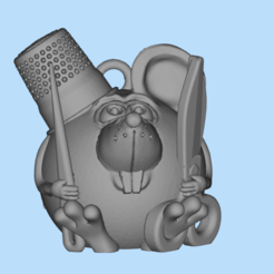 2019-12-25_15-41-13.png Download free STL file Mouse tailor • Model to 3D print, shuranikishin