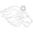Télécharger fichier impression 3D gratuit porte-clés lion, shuranikishin