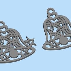 Descargar archivo 3D gratis Campana de Navidad, shuranikishin