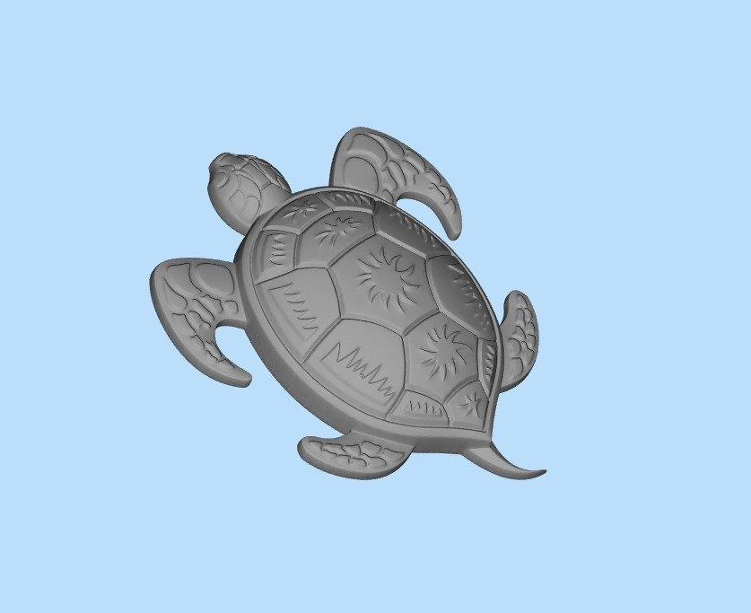 54bd3f748c9b3ead1d8dc81216a975d5_display_large.jpg Télécharger fichier STL gratuit tortue 3 • Design imprimable en 3D, shuranikishin