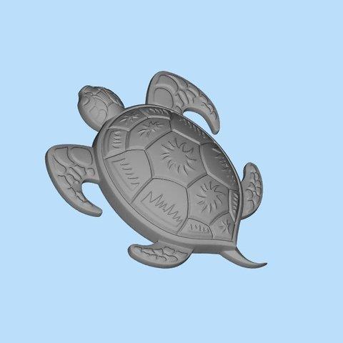 Download free STL file turtle 3 • 3D print object, shuranikishin