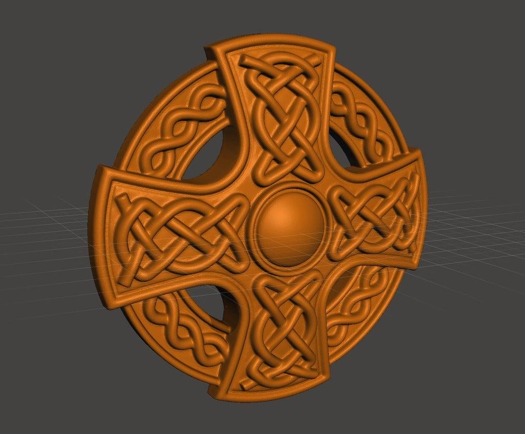 dfafca9c6cdf2755521b1fc29710554d_display_large.jpg Download free STL file Celtic cross • 3D printing model, shuranikishin