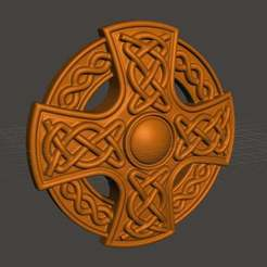Download free 3D print files Celtic cross, shuranikishin