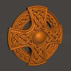 Télécharger fichier imprimante 3D gratuit croix celtique, shuranikishin