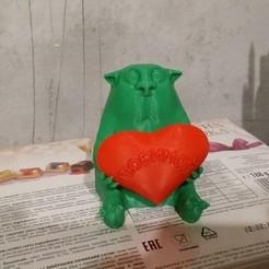 Télécharger modèle 3D gratuit chat au jour de la Saint-Valentin sacrée, shuranikishin