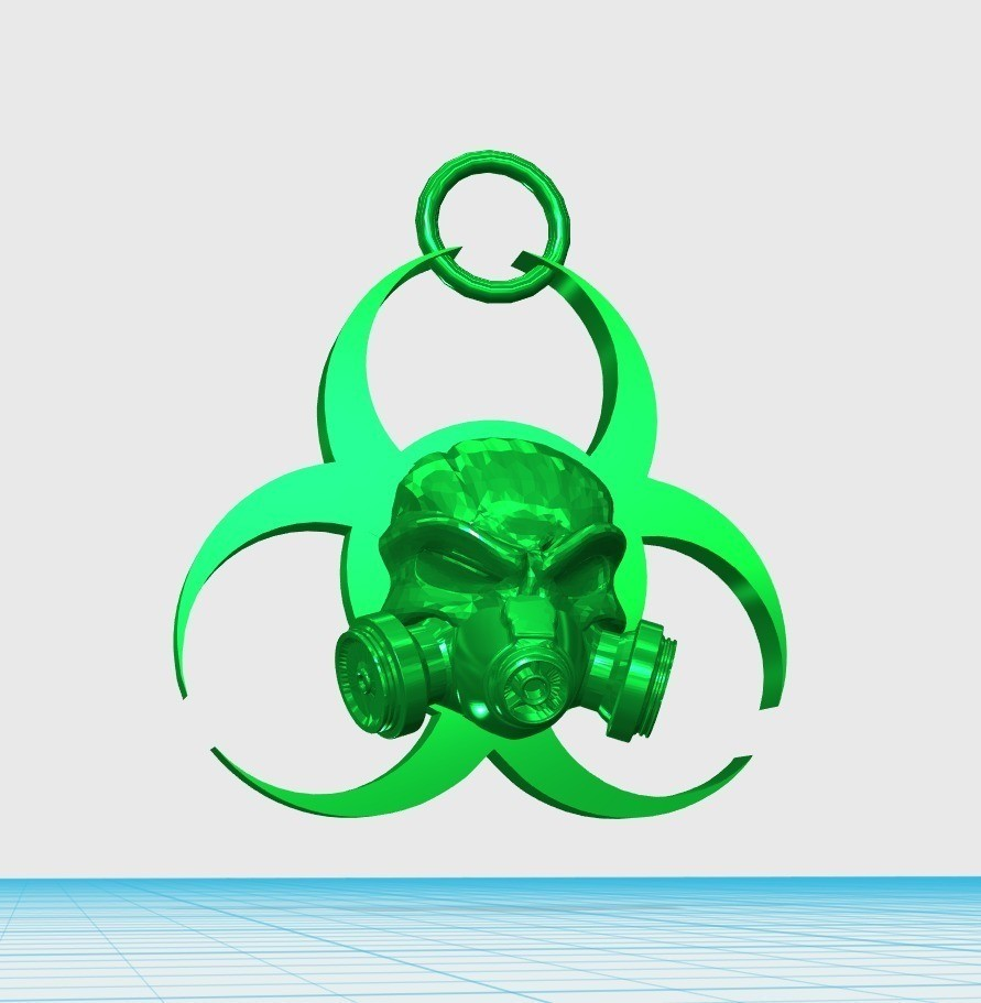 56e861ad5d05c8cab0e6eed8275f4264_display_large.jpg Download free STL file biohazard keychain • Model to 3D print, shuranikishin