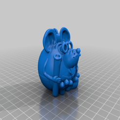 Download free 3D printer files chemist mouse, shuranikishin