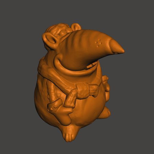 Télécharger modèle 3D gratuit Rat 2020, shuranikishin