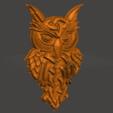 Impresiones 3D gratis búho celta, shuranikishin