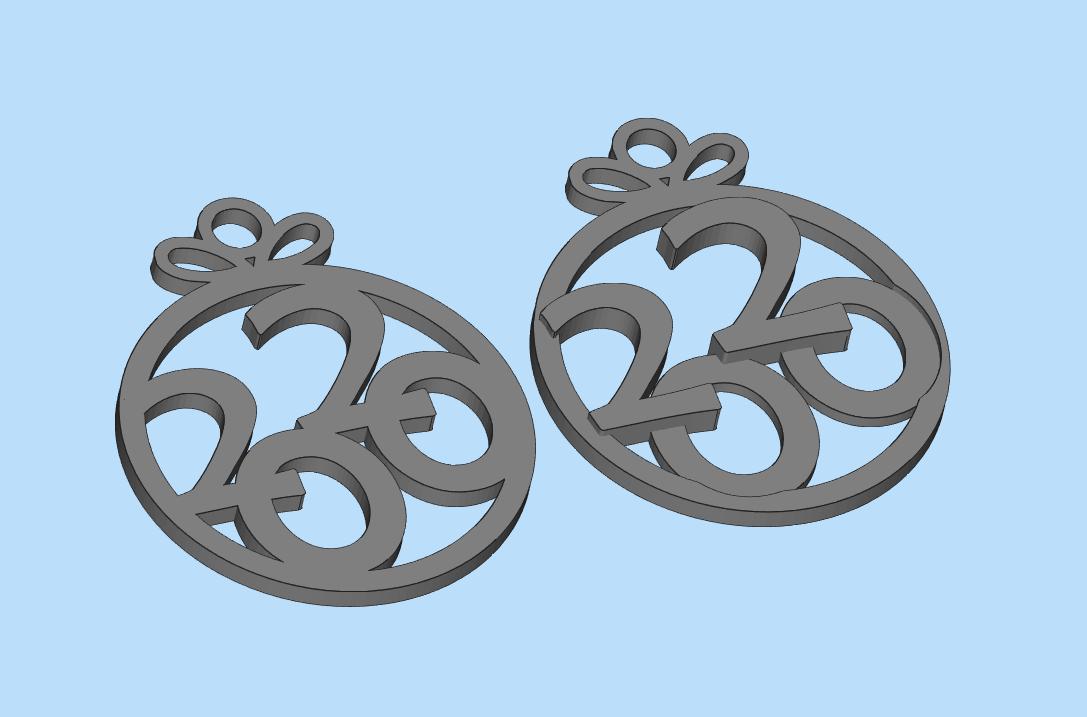 2019-11-11_13-30-21.png Download free STL file add for Christmas tree 2020 • 3D printing model, shuranikishin